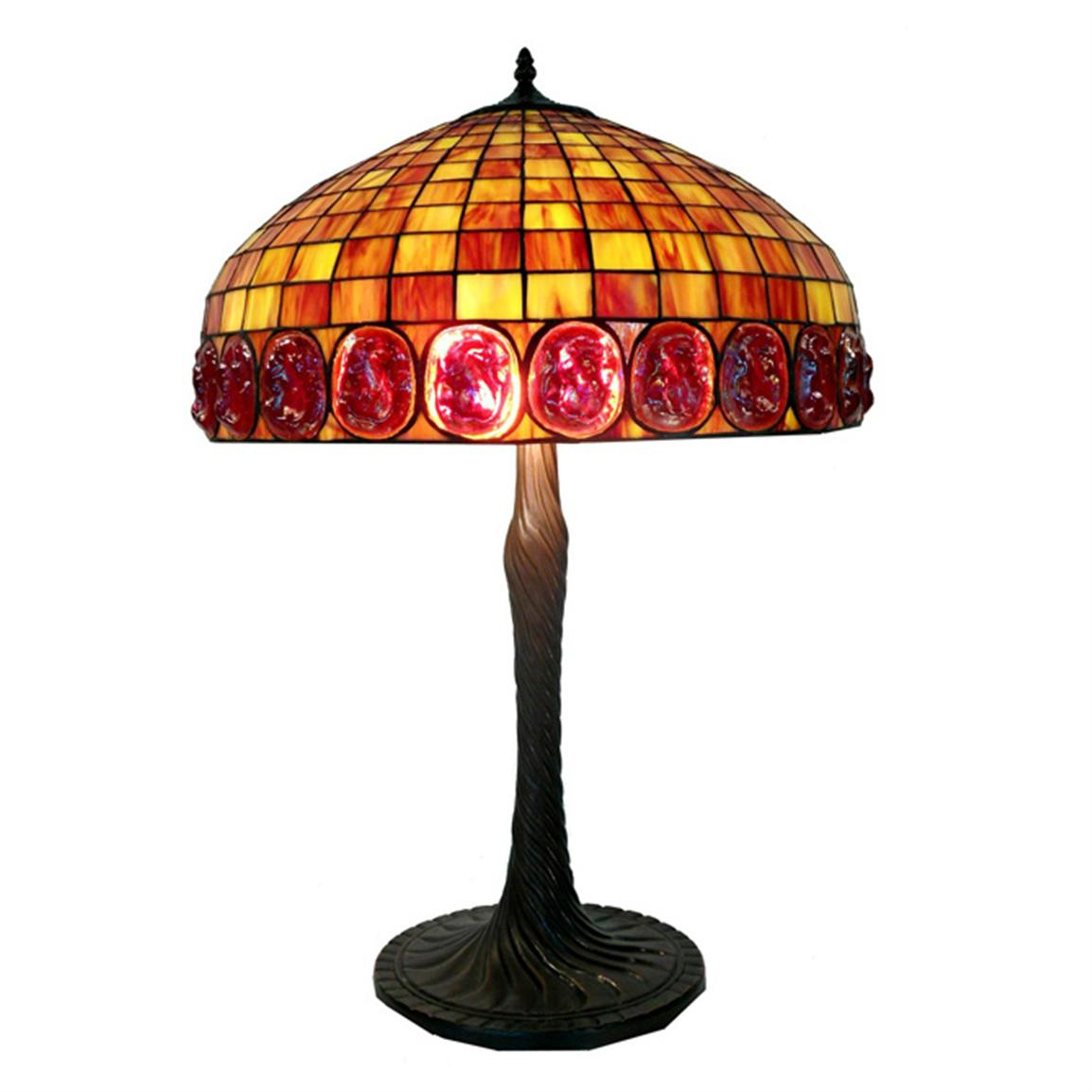 Warehouse of Tiffany® Rich Amber Tone Table Lamp