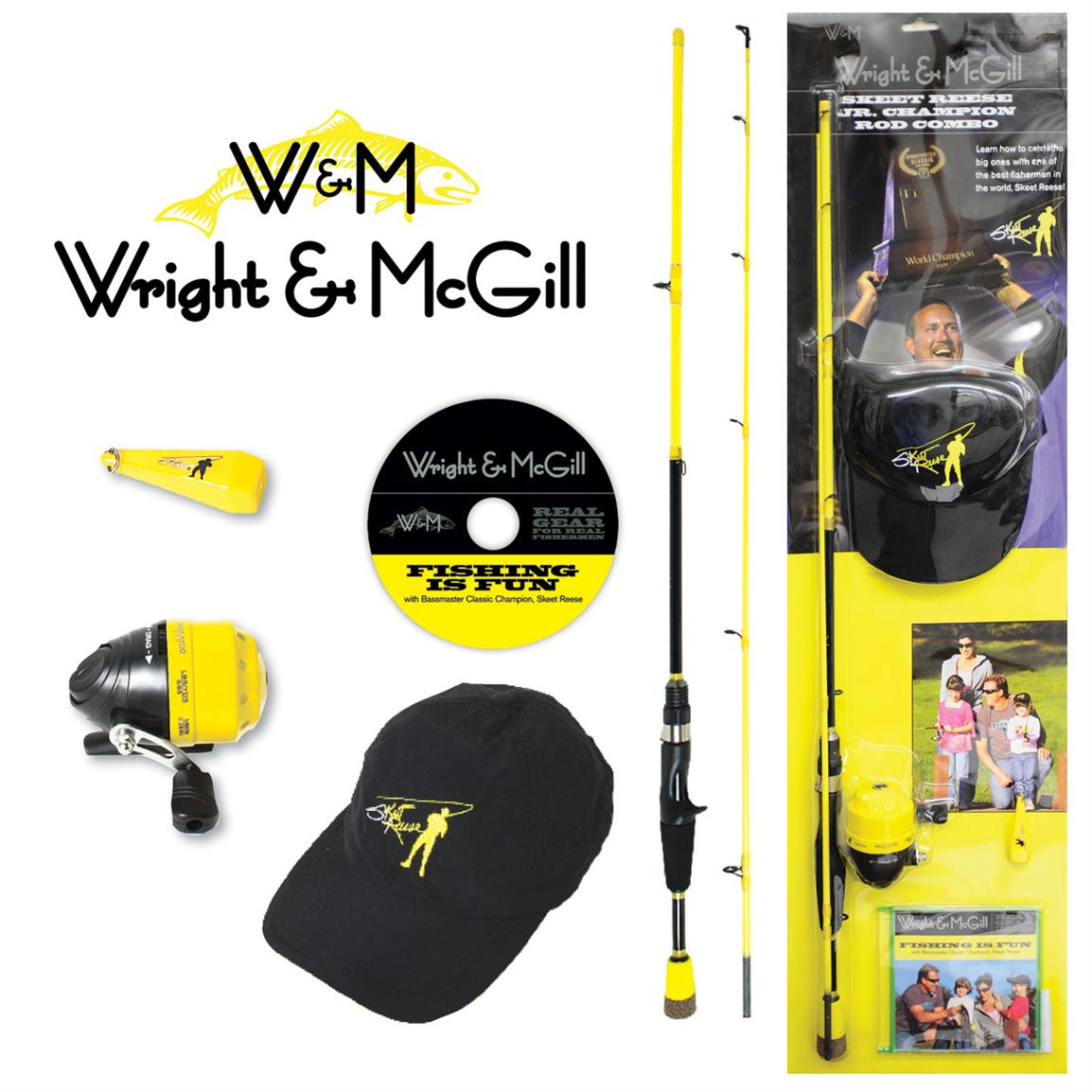 Wright & McGill™ Skeet Jr. Champion Spincast Combo