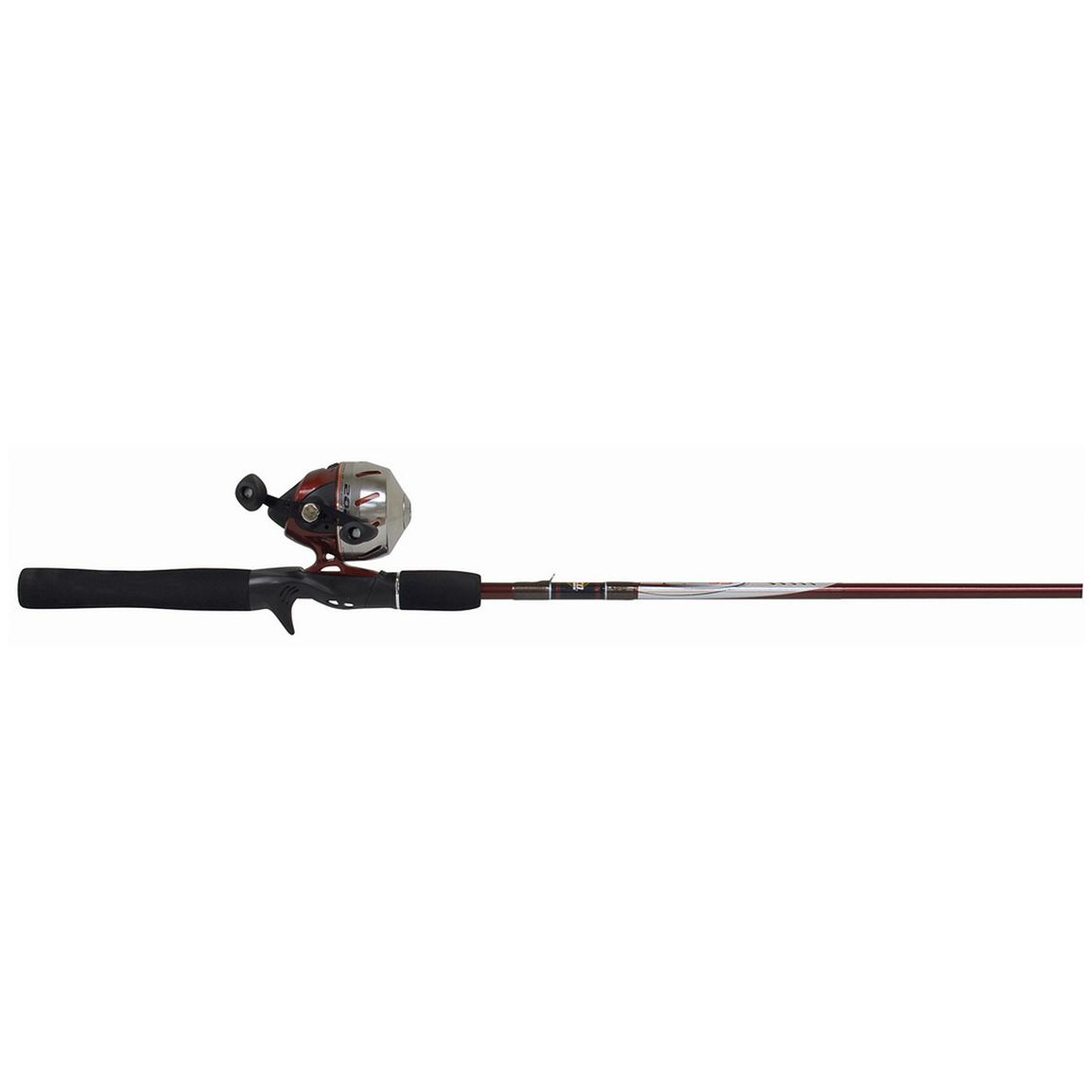 Zebco® Stainless Steel 101 Spincast Rod and Reel Combo