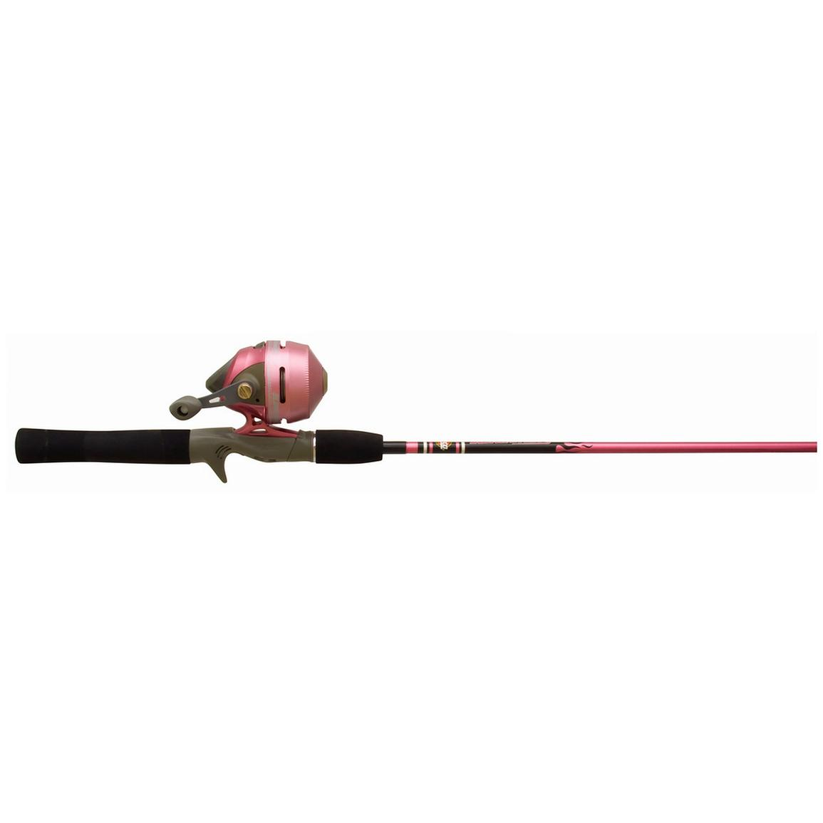 Women 39 s zebco 202 spincast rod and reel combo 225314 for Slingshot fishing pole