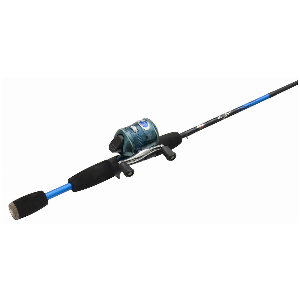 Zebco® Custom Micro Open Stock Rod and Reel Combo, Blue