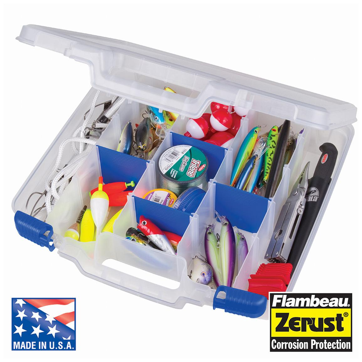 Flambeau® Tuff 'Tainer™ Tackle Box with Zerust® Dividers
