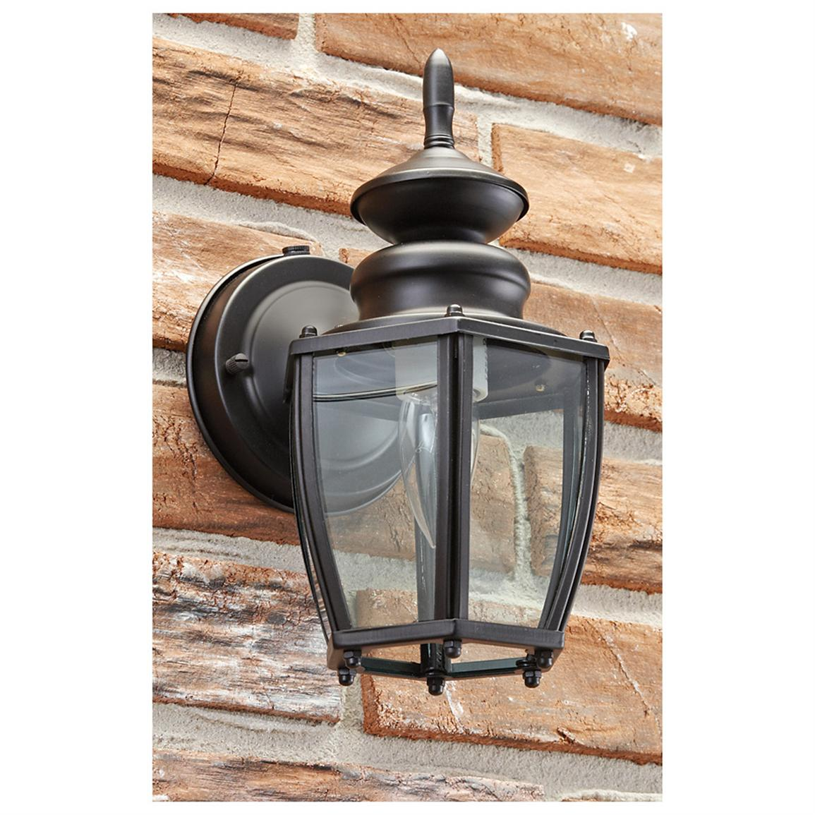 CASTLECREEK® Classic Outdoor Lantern, Black
