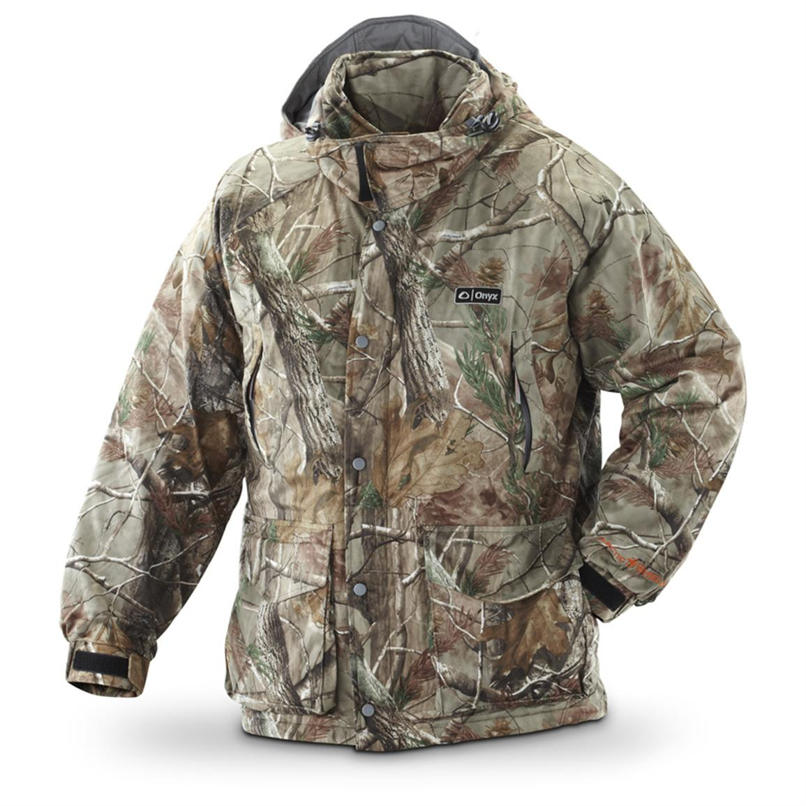 ArcticShield® Classic Hooded Parka, Realtree® AP™; Adjustable cuffs, Chin cover