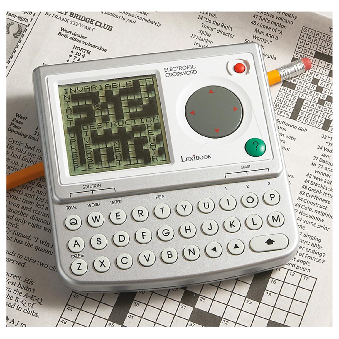 Electronic Crossword Game