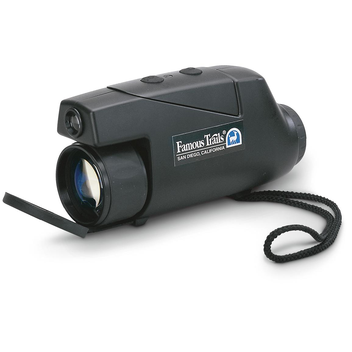 Famous Trails® 2.5X Night Vision Monocular