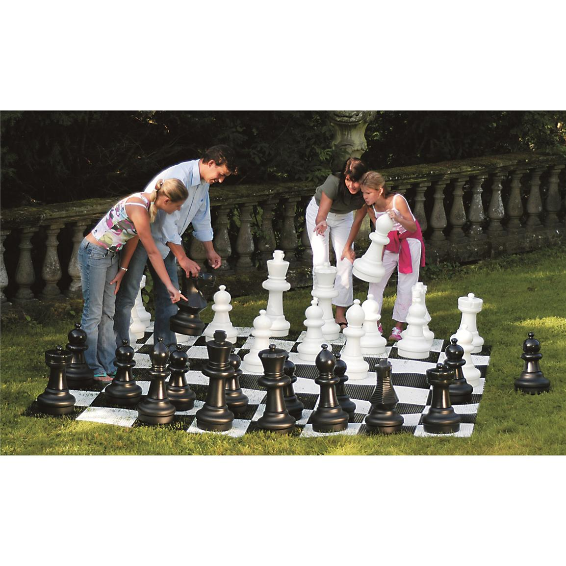 Kettler® Large Chess Pieces