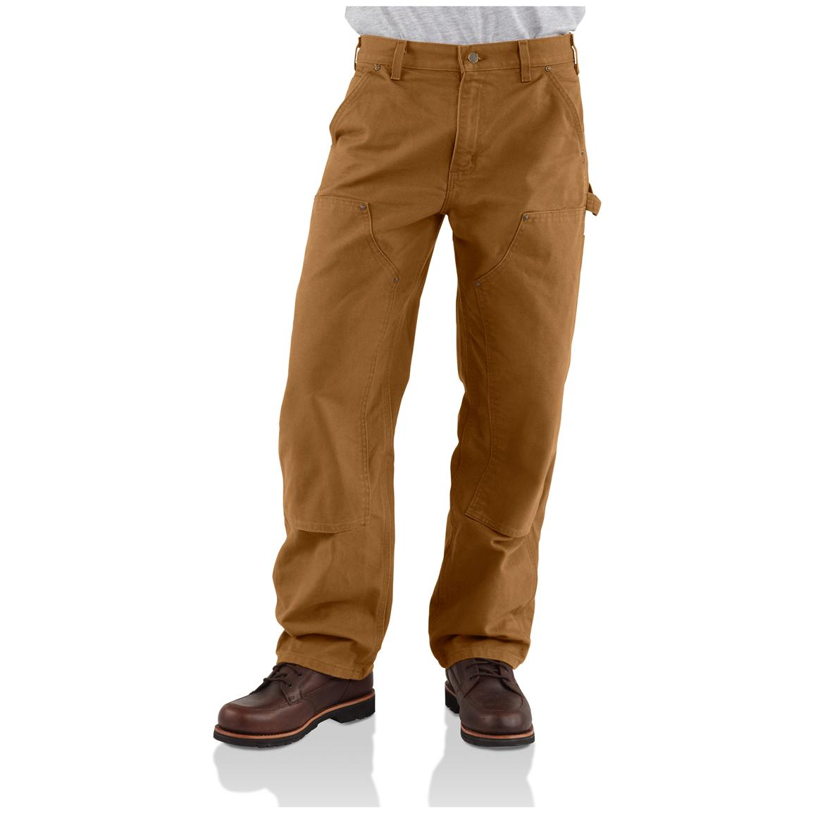 Carhartt® Double Front Work Jeans, Brown