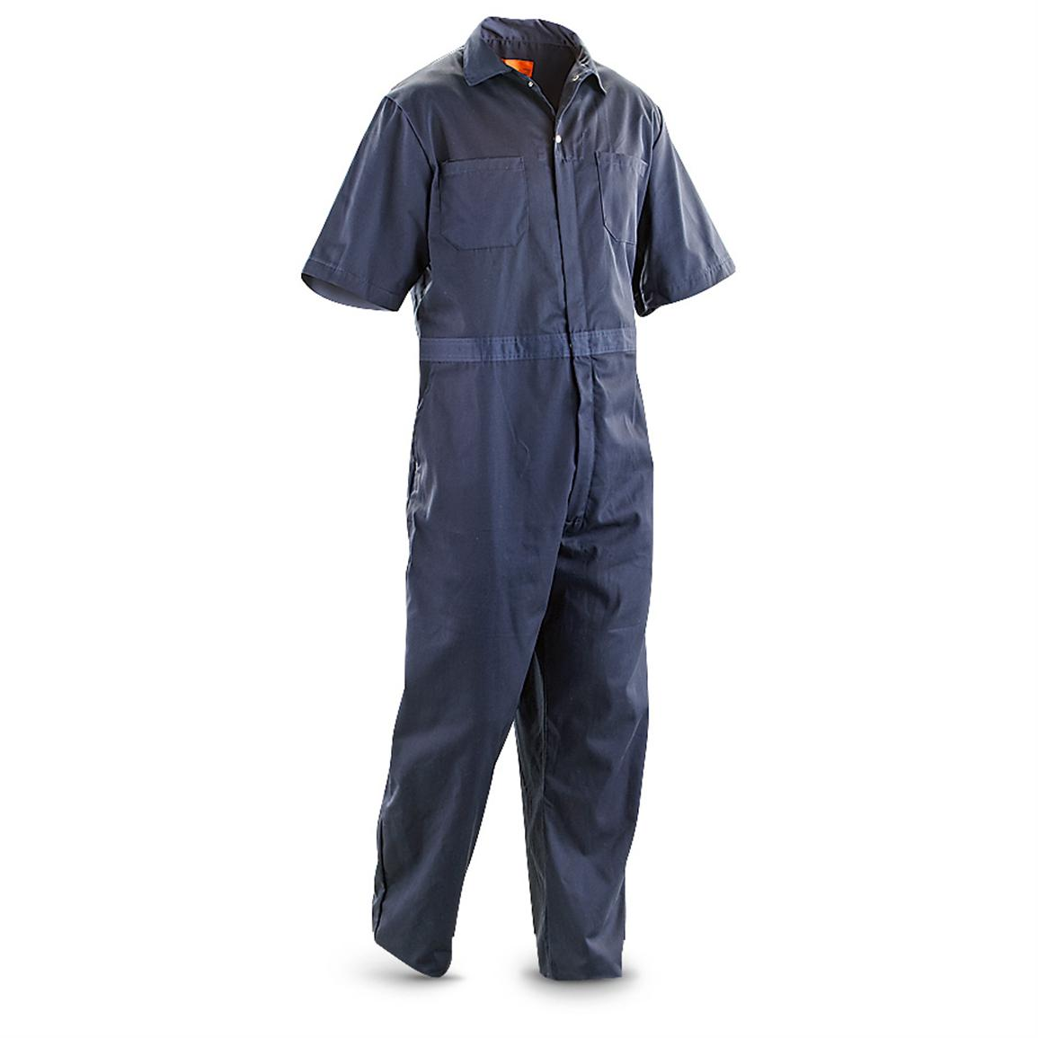 Industrial Work Gear® Coveralls, Navy