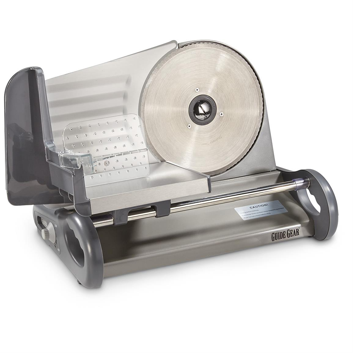 "Guide Gear Electric Stainless Steel Food Slicer, 8.5"" Blade"