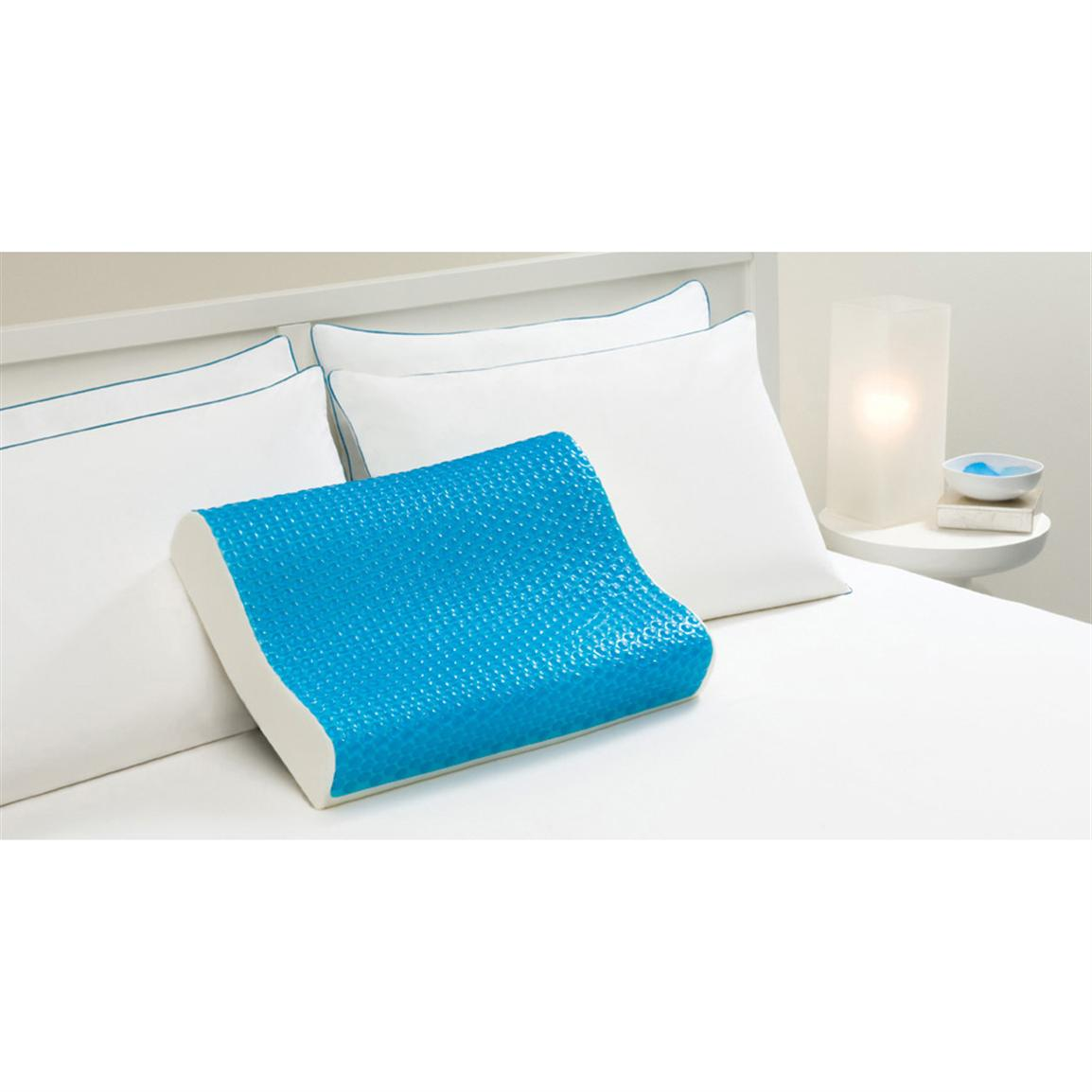 Hydraluxe Memory Foam Hydraluxe Gel Contour Pillow