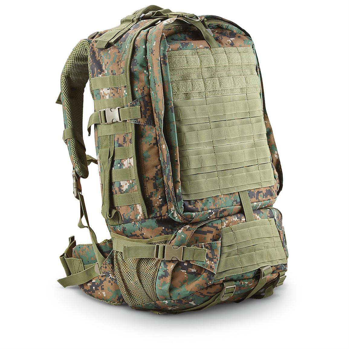 Fox Tactical® Military Surplus Recon Pack, Digital Woodland