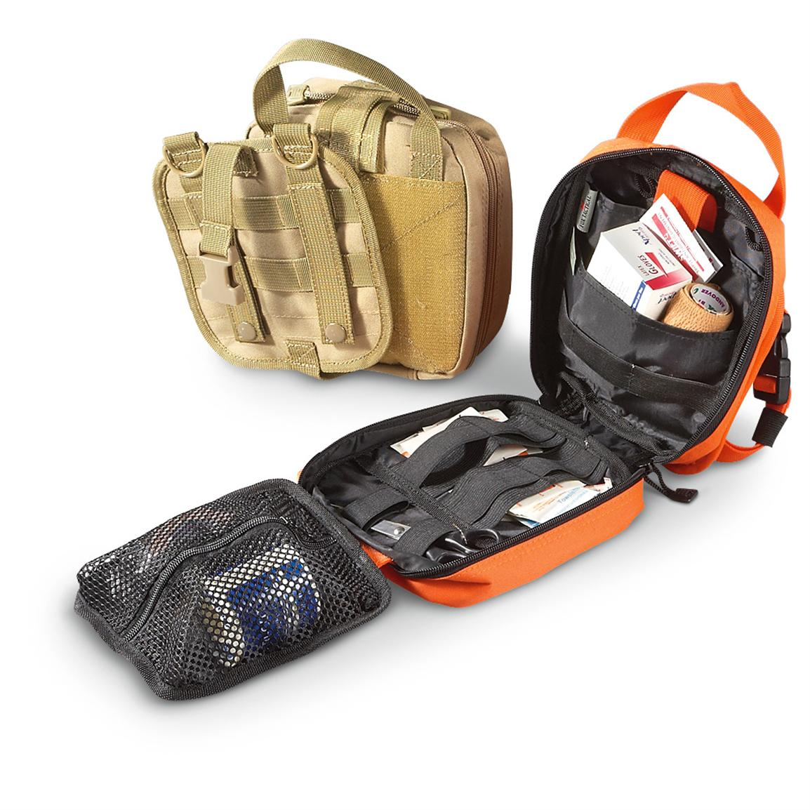 Fox Tactical™ 1st Responder Field Pouch, Coyote / Orange