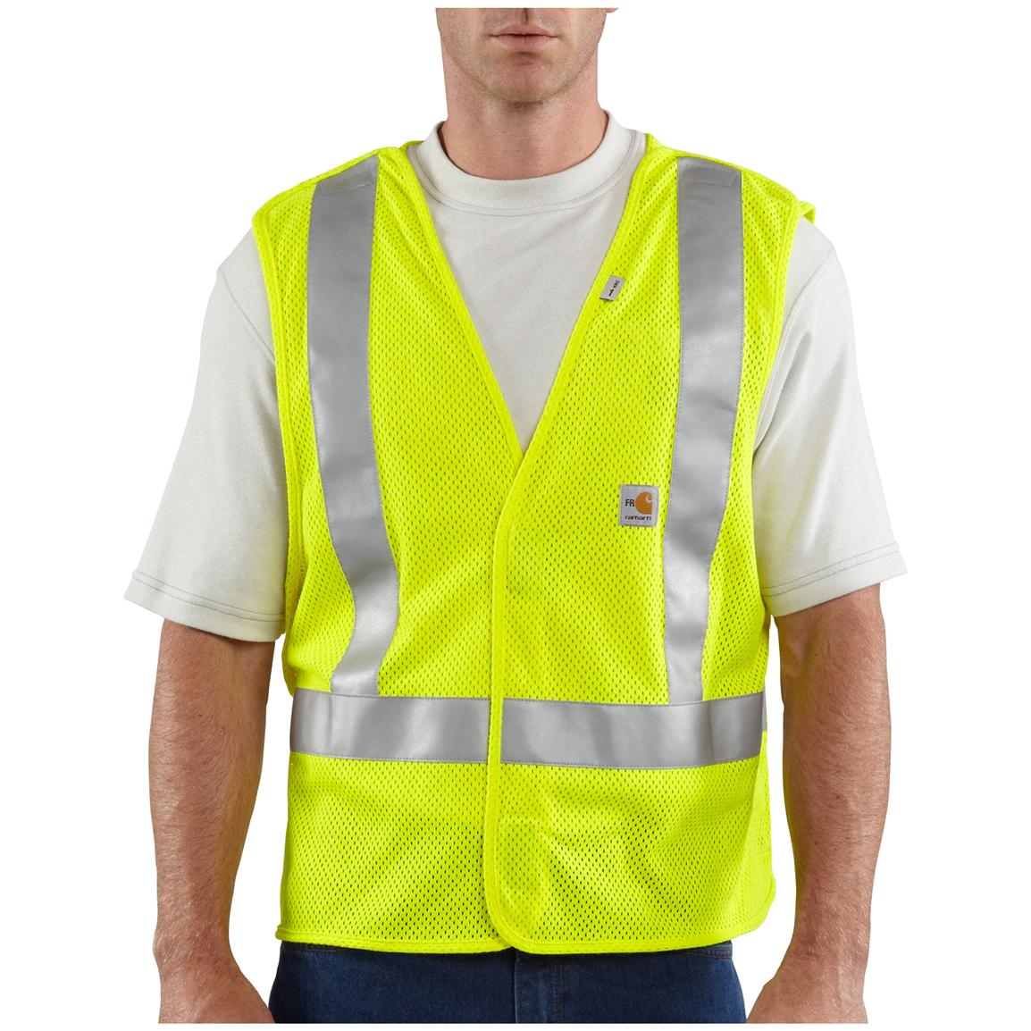 Carhartt® Flame-resistant High-visibility 5-point Breakaway Vest