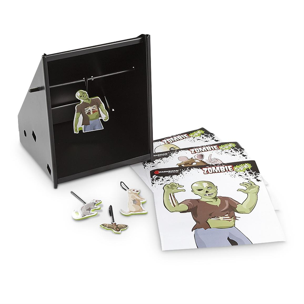 4-Pk. of Zombie Splat Swinging Targets