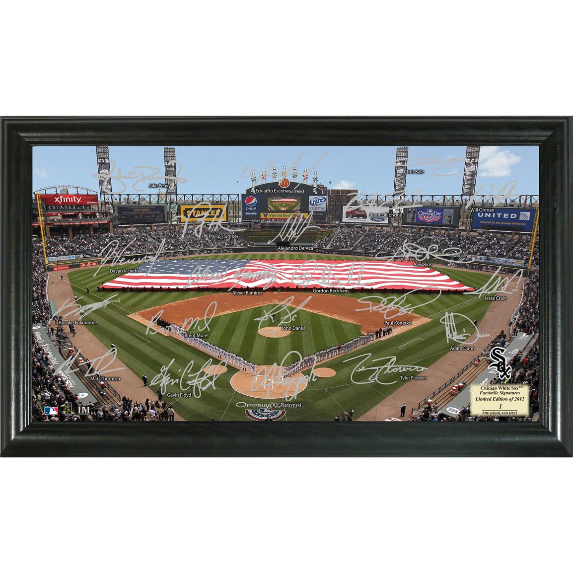 Highland Mint® 2012 Chicago White Sox Signature Field Display