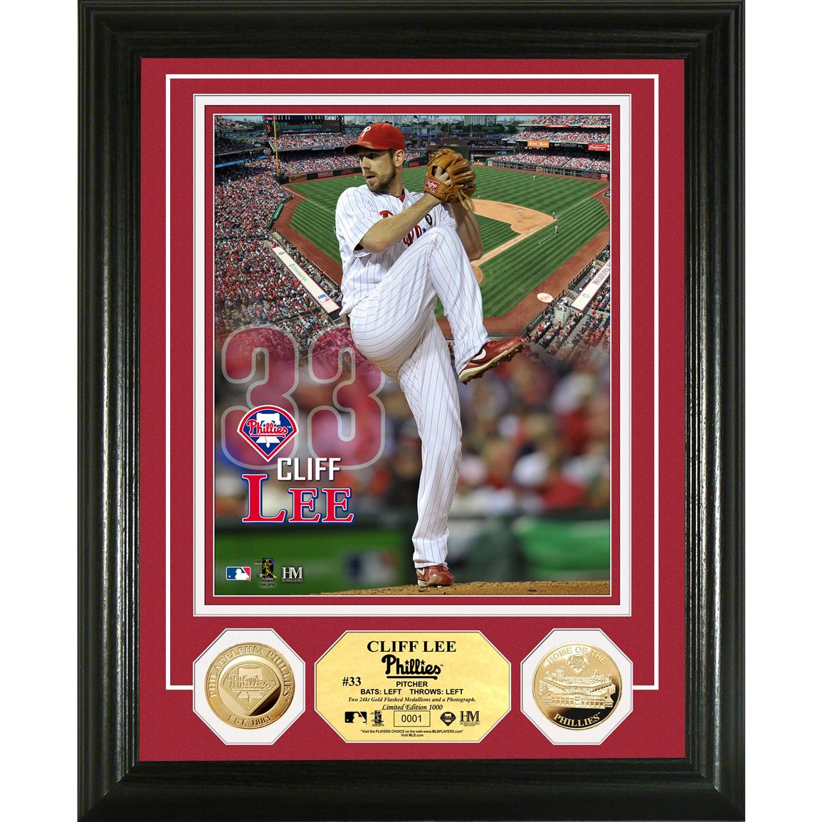 The Highland Mint® Cliff Lee Coin Photo Mint