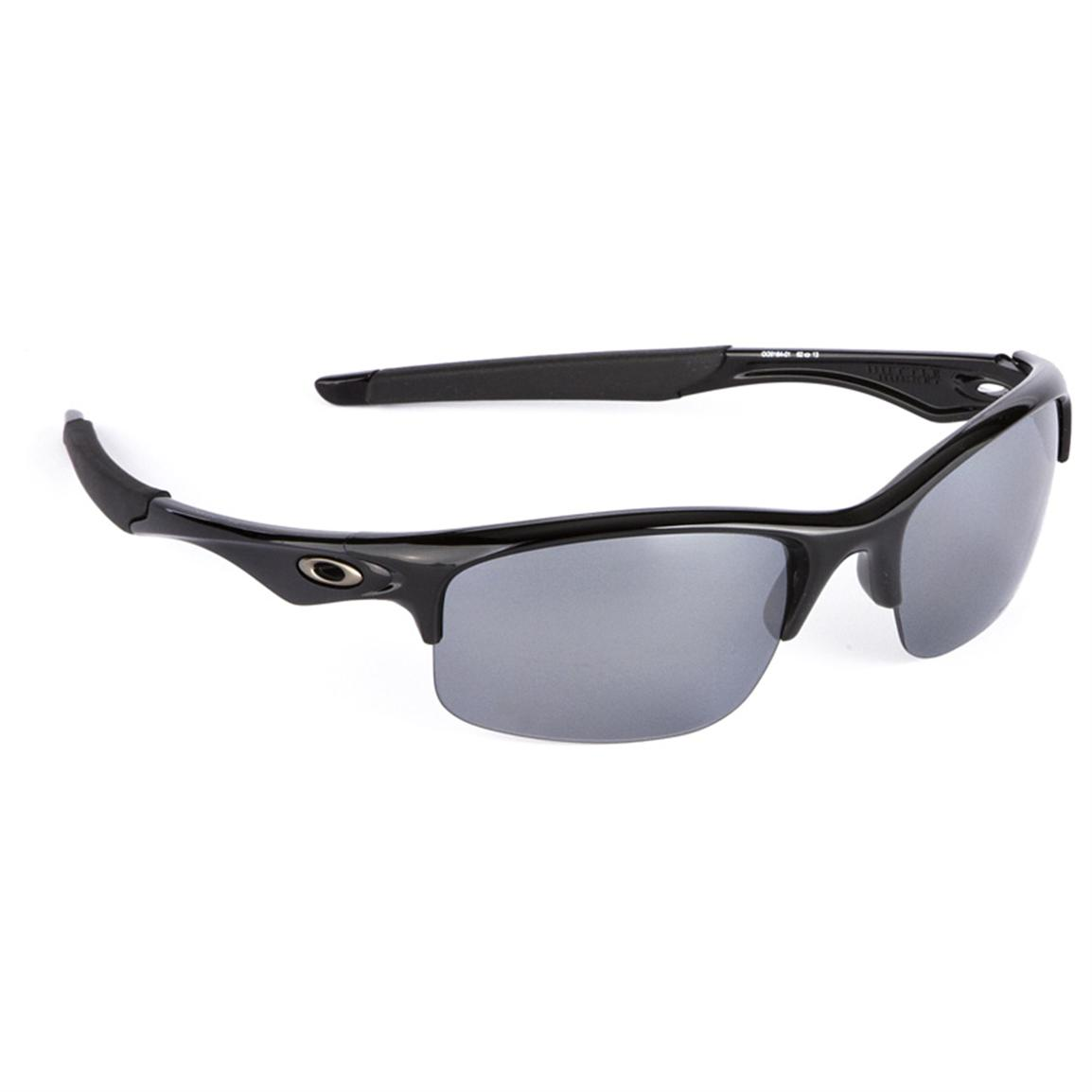 Oakley Bottle Rocket Polarized Sunglasses, Black