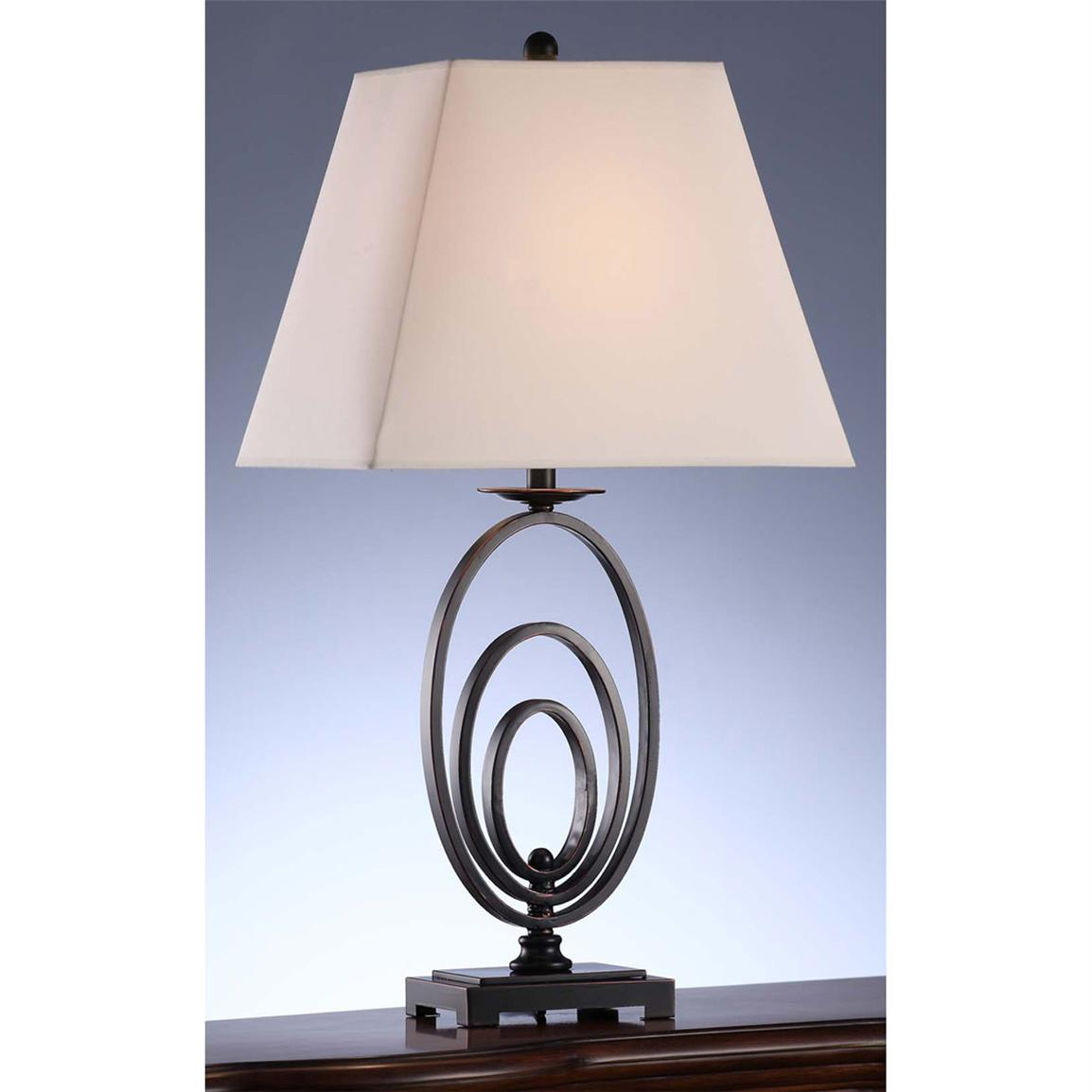 Oval Ring Table Lamp from Crestview Collection