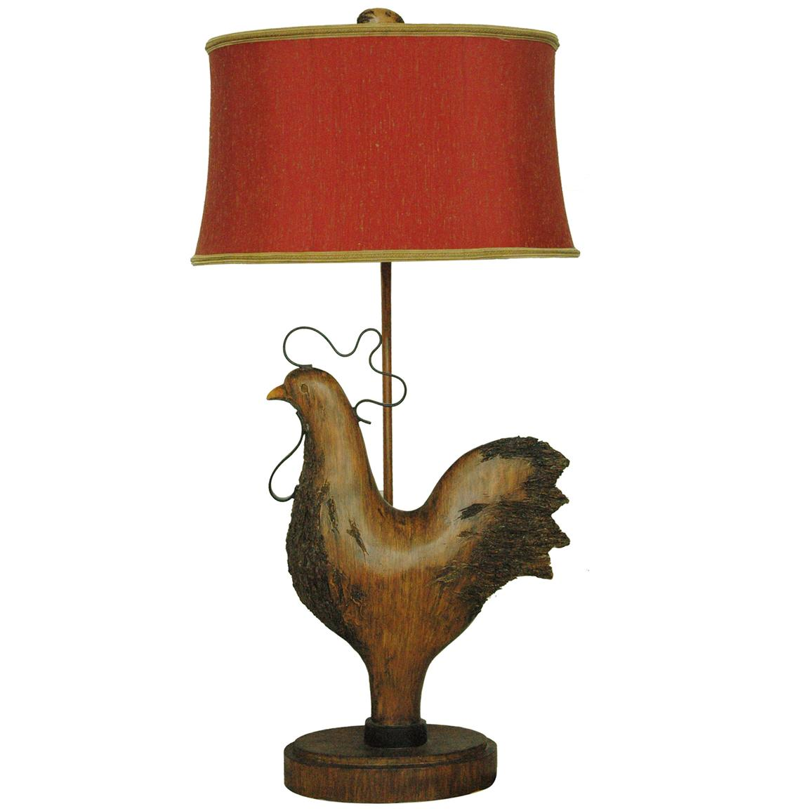Rooster Table Lamp From Crestview Collection