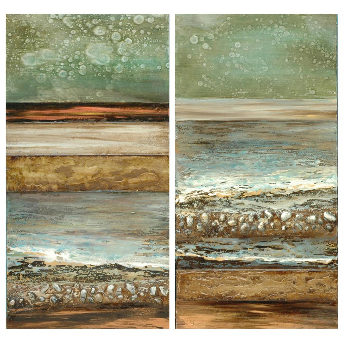 Crestview Collection® Tide Rushing In I & II Canvas Print