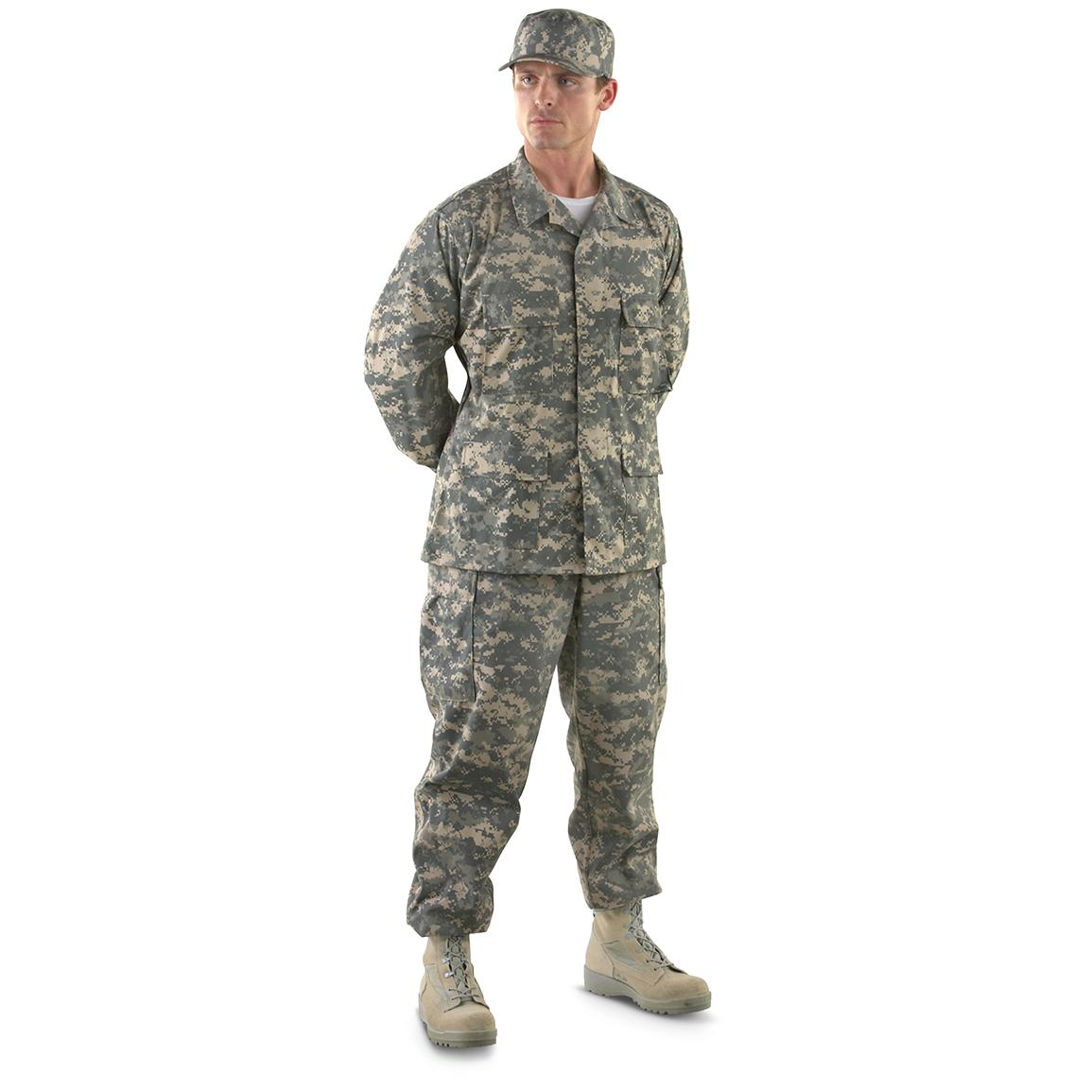 HQ ISSUE™ Military-style BDU Clothing, Army Digital