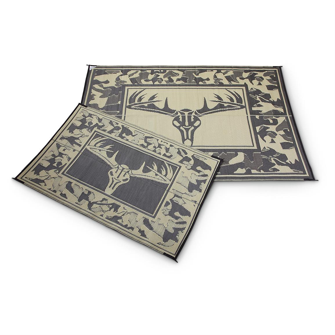 Guide Gear Trophy Outdoor Mat, 4 foot x 6 foot, Camo