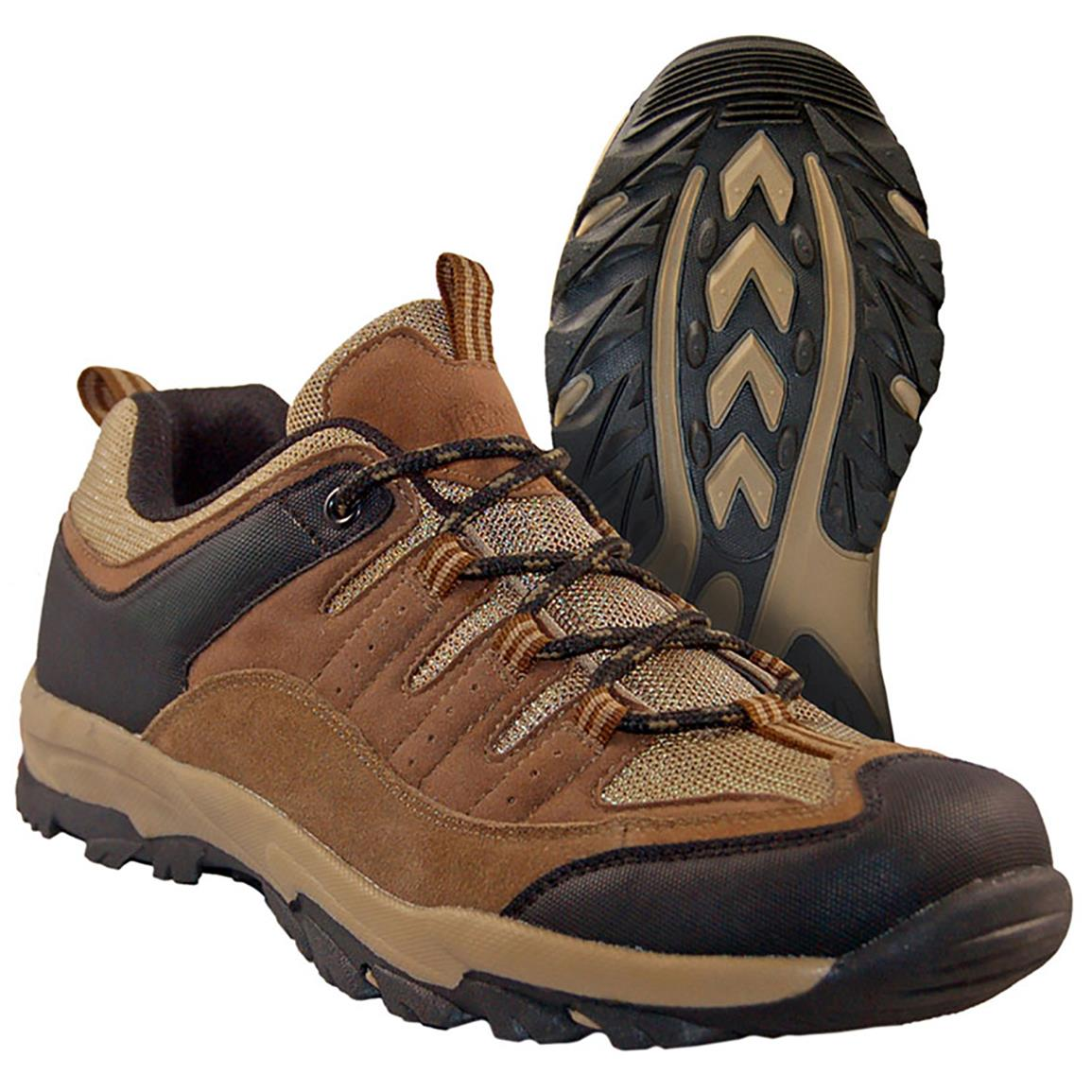 "Men's Itasca® Bridgeport 4"" Low Hikers, Brown / Tan"