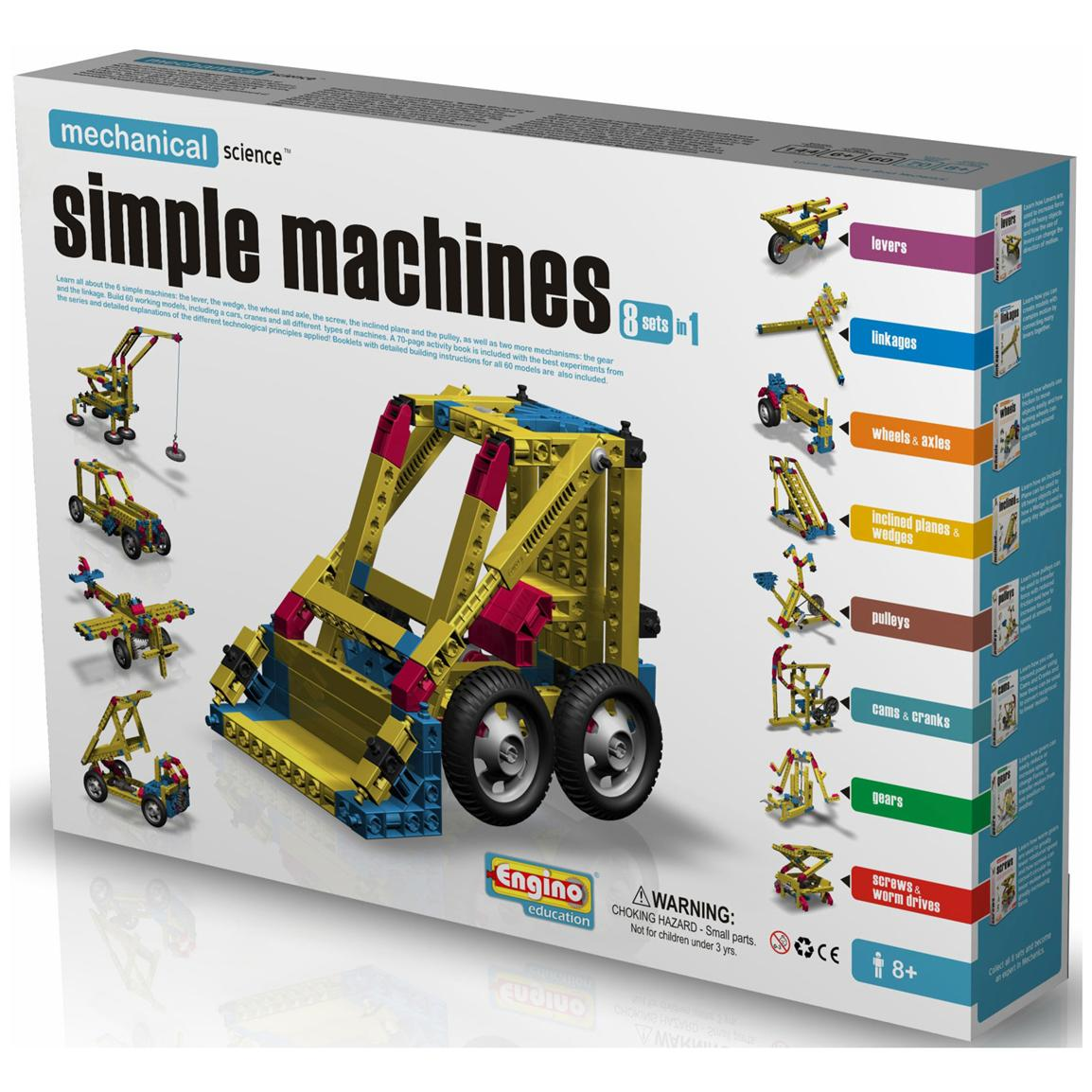 Engino® 8-in-1 Simple Machines Kit