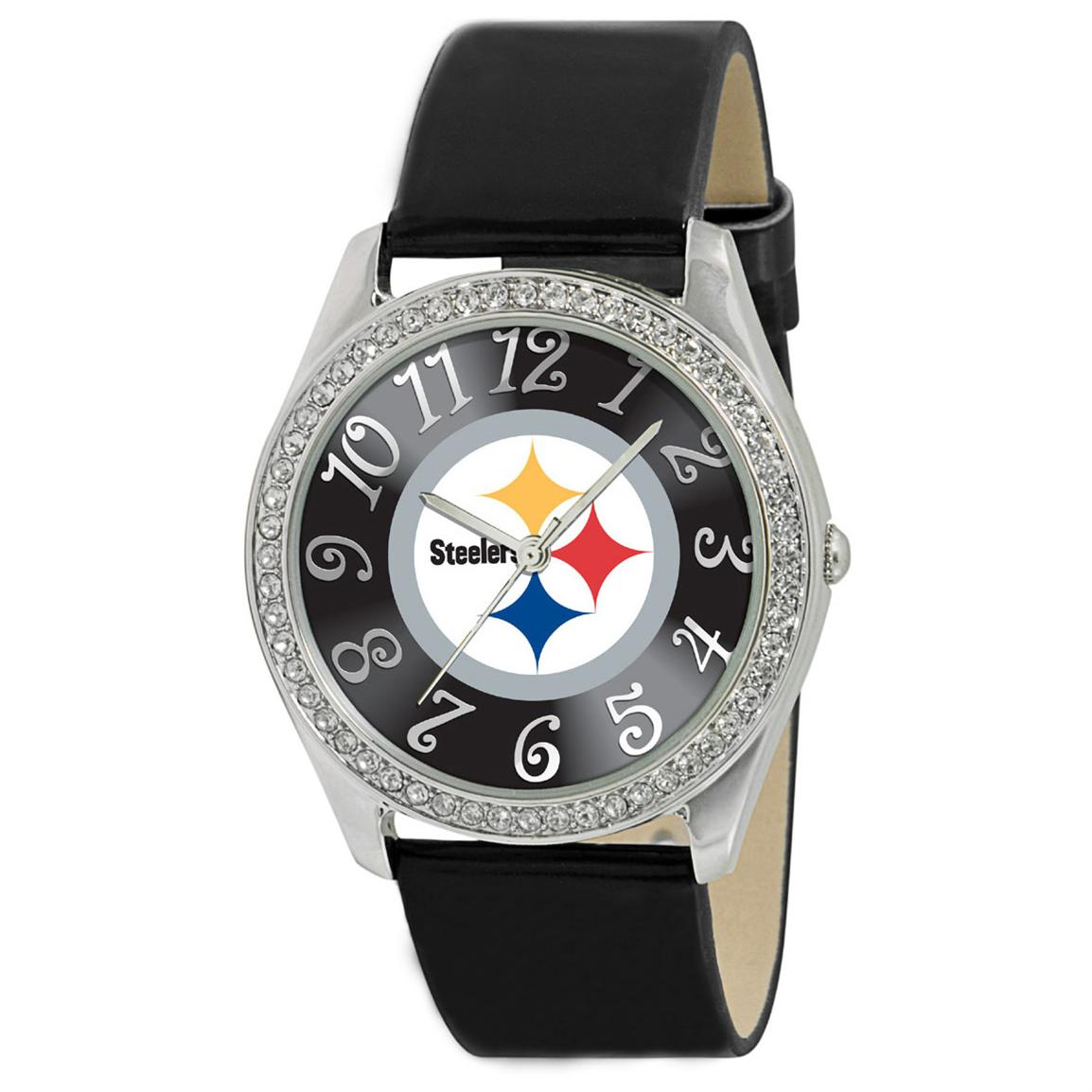 Game Time® NFL Glitz Series Watch, Pittsburgh Steelers
