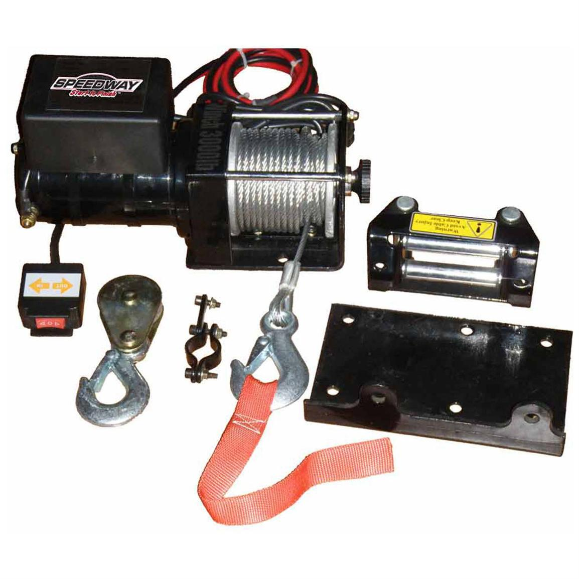 Speedway® 3,000-lb. Electric Winch