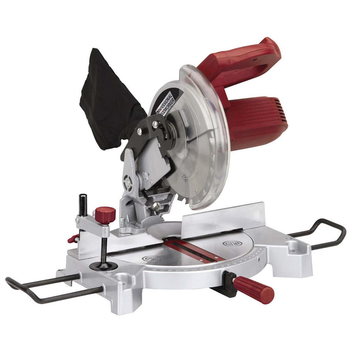 Professional Woodworker 8 1/4 inch Compound Miter Saw with Laser Guide