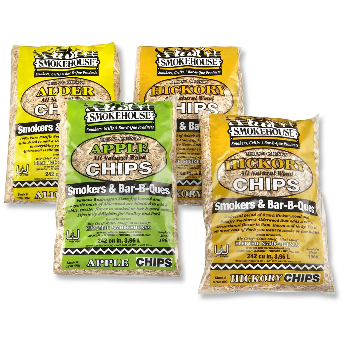 4-Pk. of Variety Wood Chips