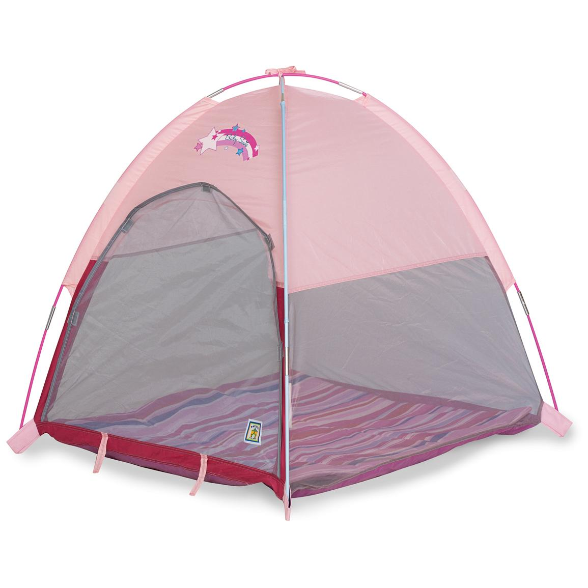 Pacific Play Tents® Baby Suite Deluxe Pink Nursery Tent