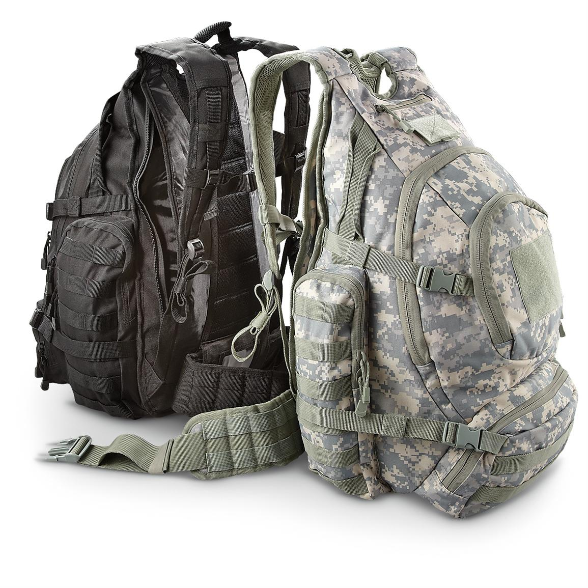 Military-inspired Multi-use Tactical Backpack