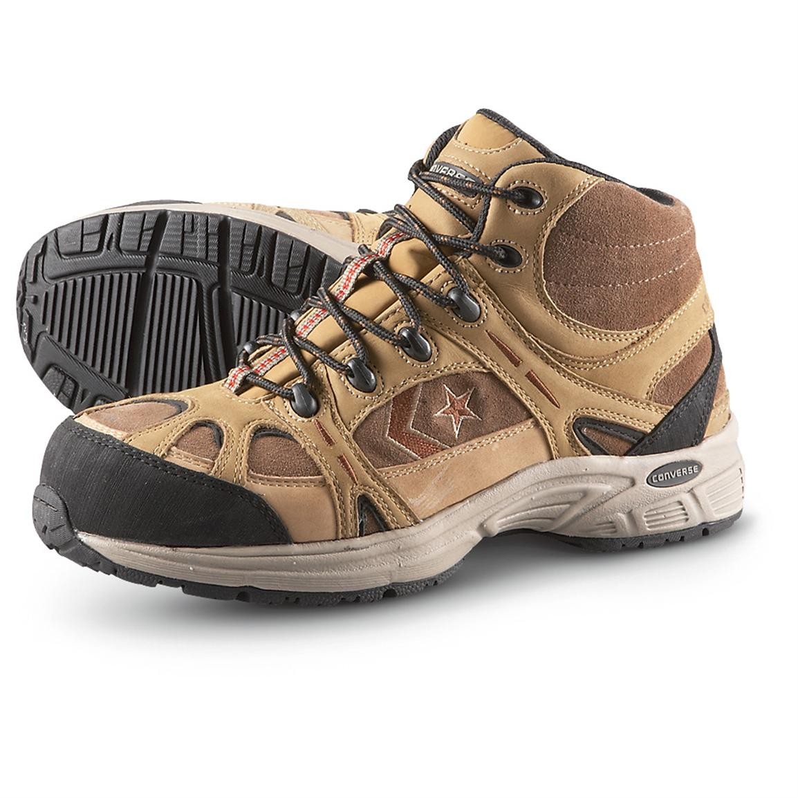 Men's Converse® Waterproof Composite Toe Hikers, Tan