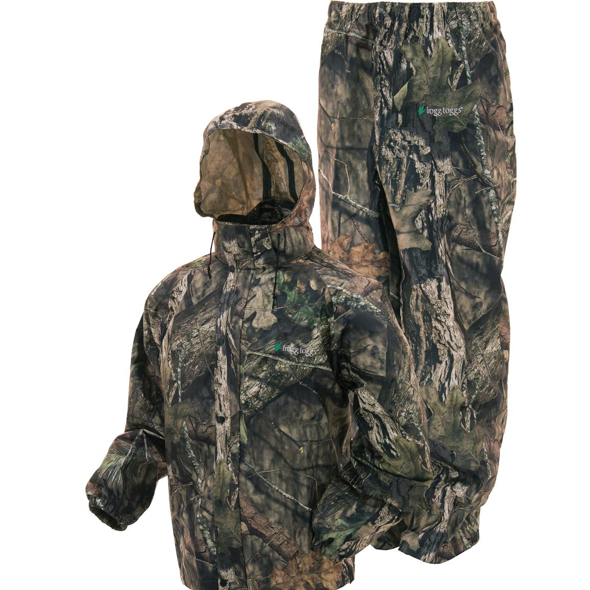 Frogg Toggs All Sport Camo Rain Suit, Mossy Oak Break-Up Country