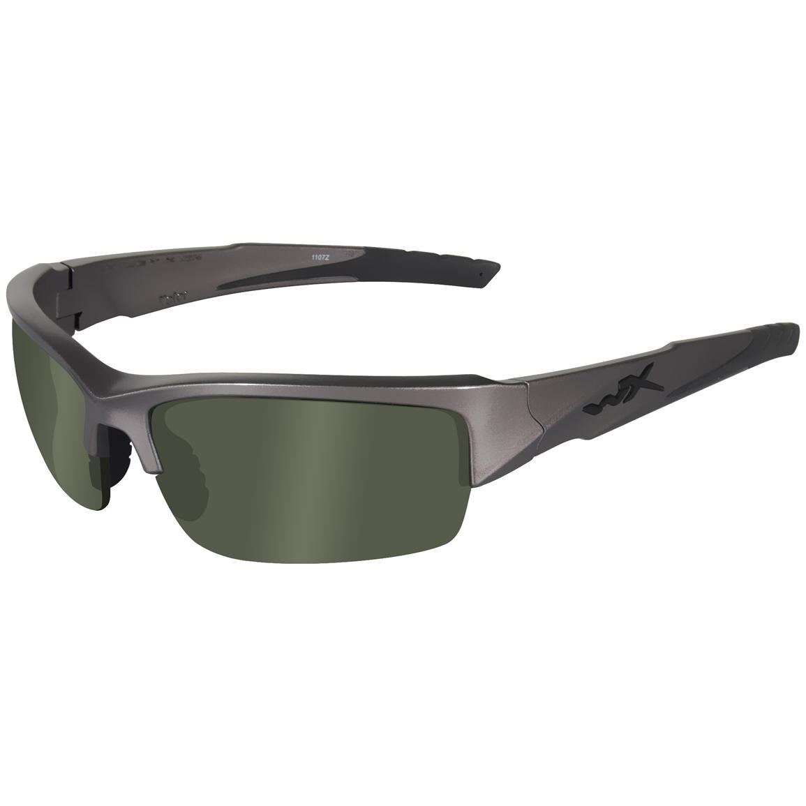 Wiley X® Valor Changeables Polarized Sunglasses, Green