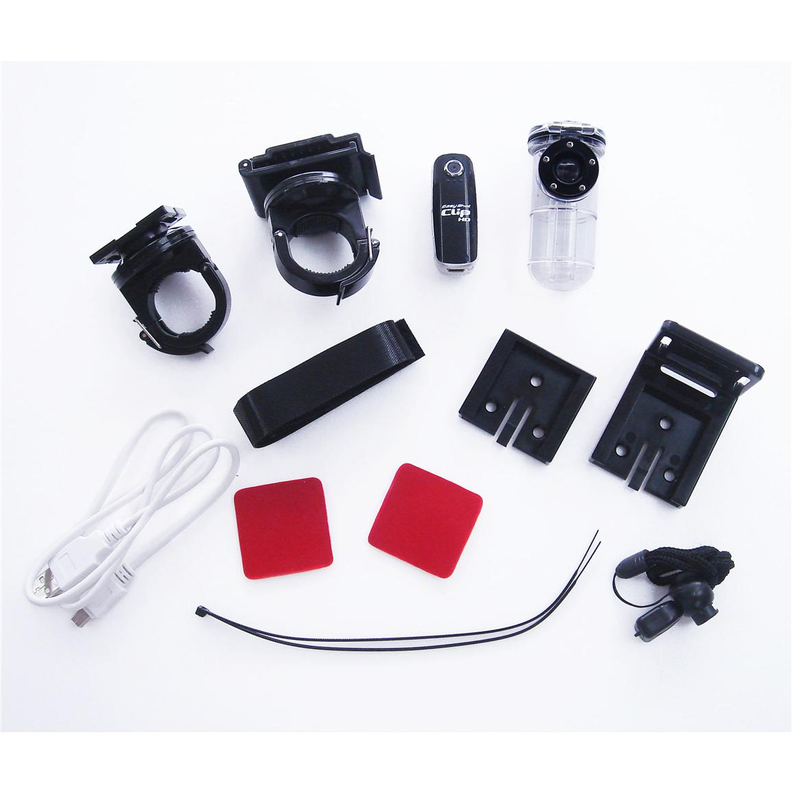 Easy Shot Clip™ HD Video Outdoor and Diving Kit