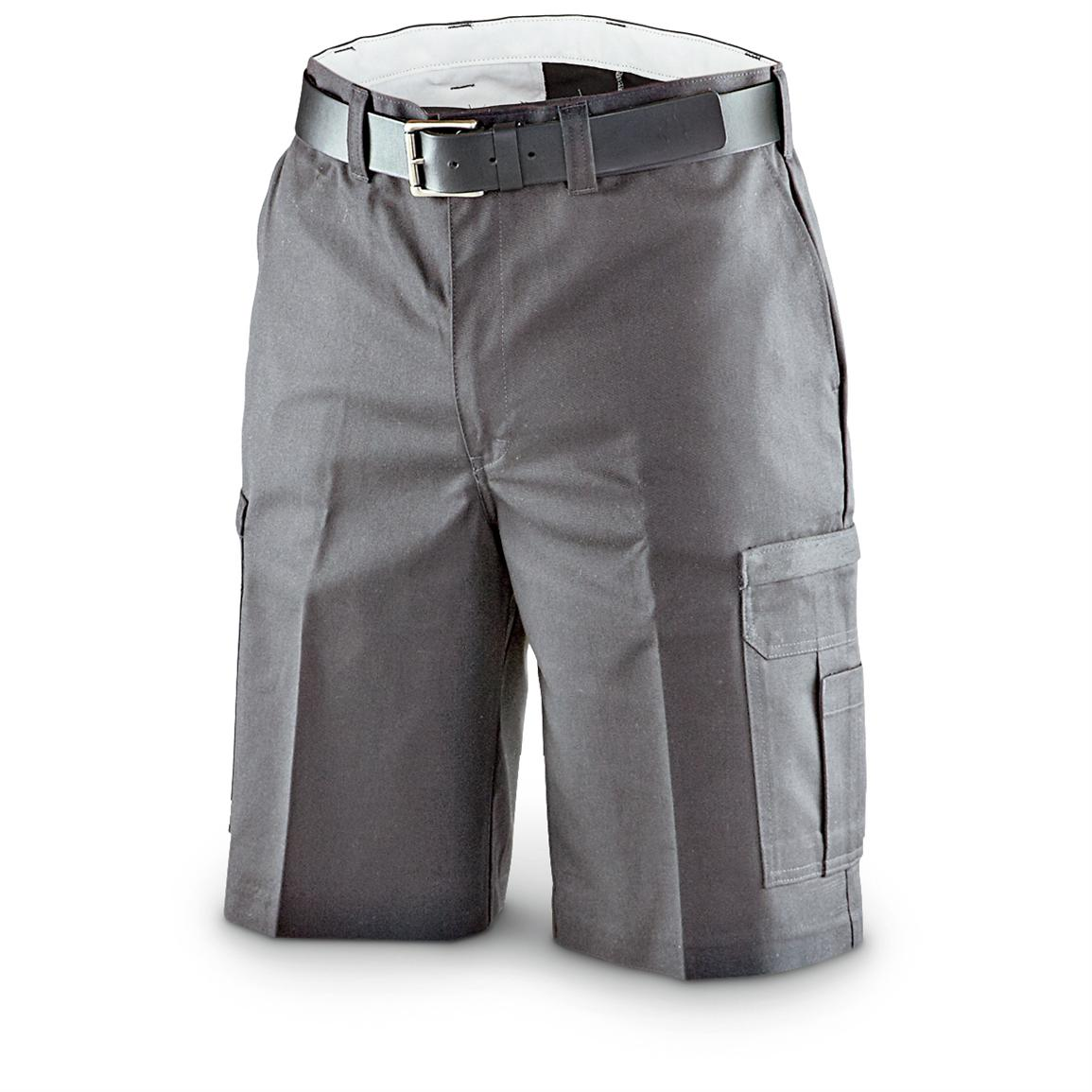 "Dickies® 11"" Industrial Cargo Work Shorts For Men, Charcoal"
