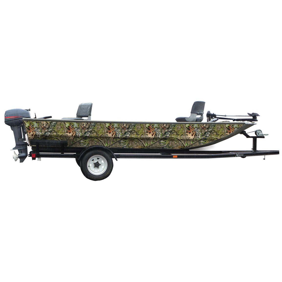 Mossy Oak Graphics® 16 foot Boat Side Camouflage Kit, Obsession