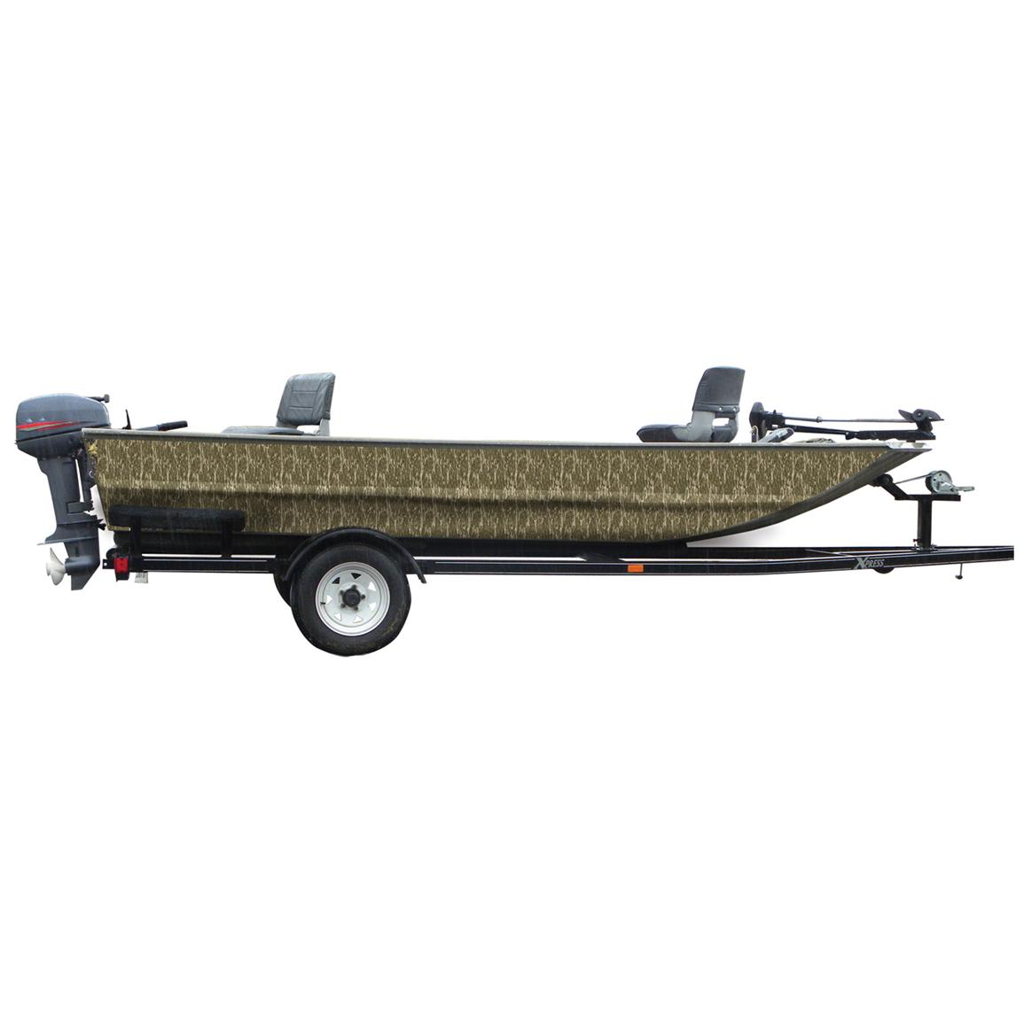 Mossy Oak Graphics® 16 foot Boat Side Camouflage Kit, Bottomland