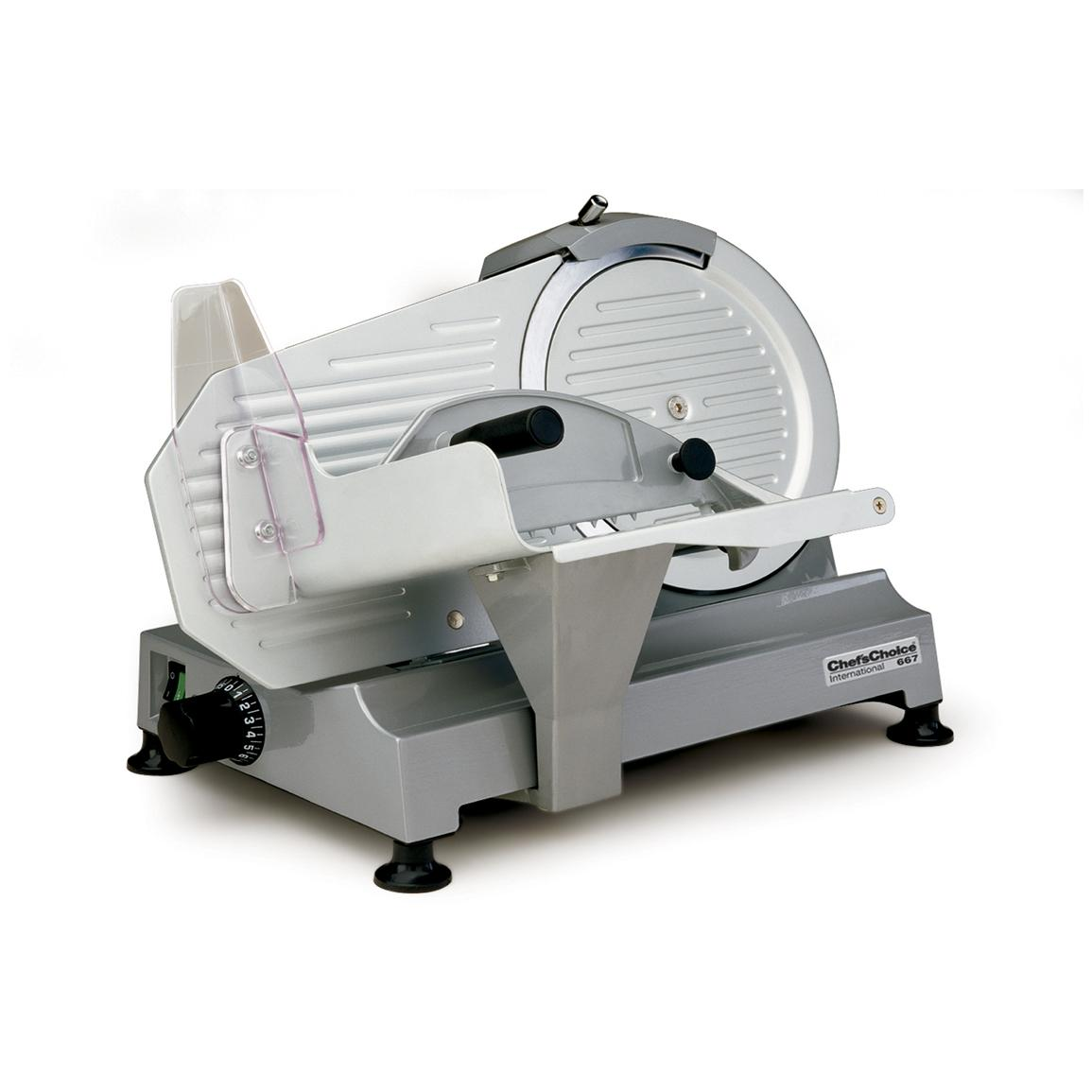 Chef S Choice 174 M667 Professional Electric Food Slicer