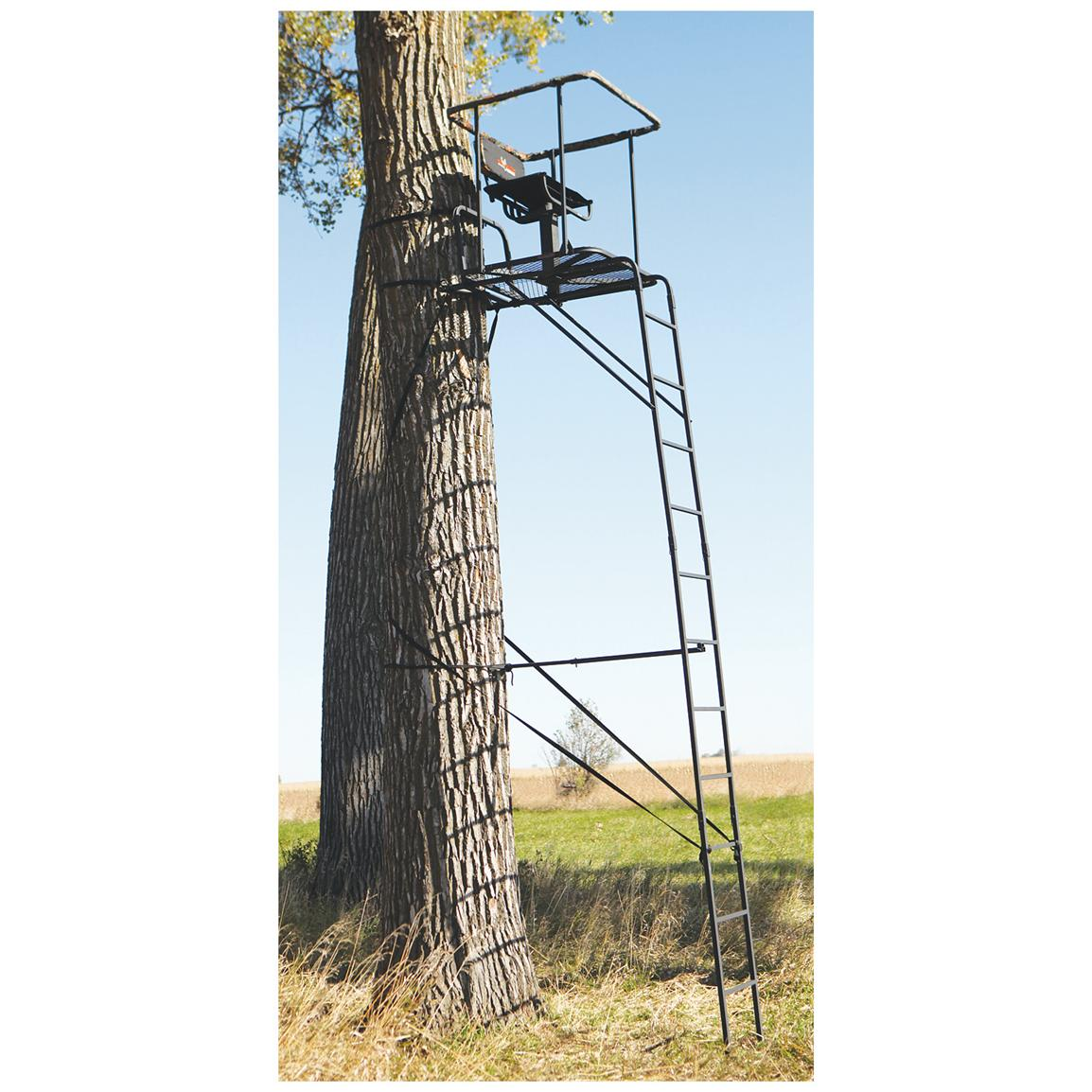 Big Game Infinity 16' Ladder Tree Stand • 300-lb. capacity