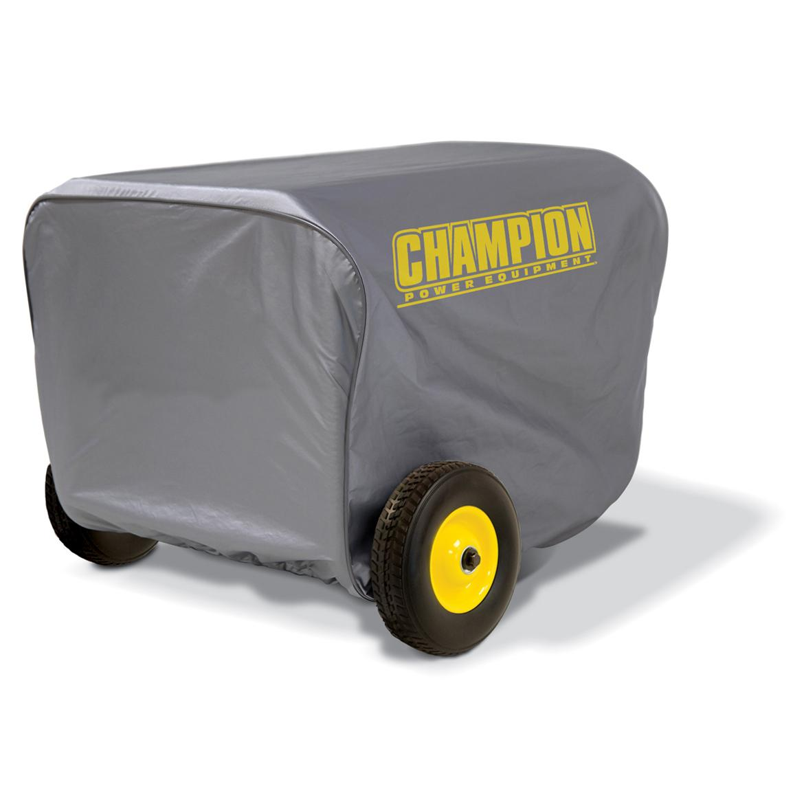Champion Power Equipment Large Weather Proof Custom Made Vinyl Generator Cover