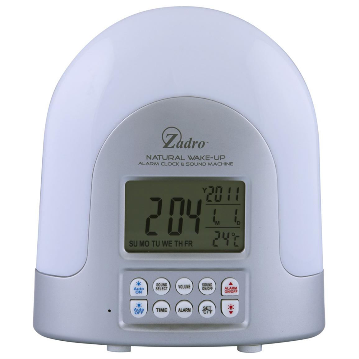 Zadro Health Solutions® Natural Sunlight Alarm Clock