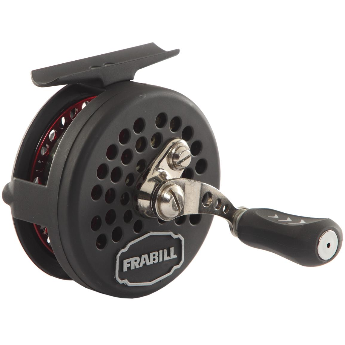 Frabill straight line 241 ice fishing reel 229920 ice for Best ice fishing reel