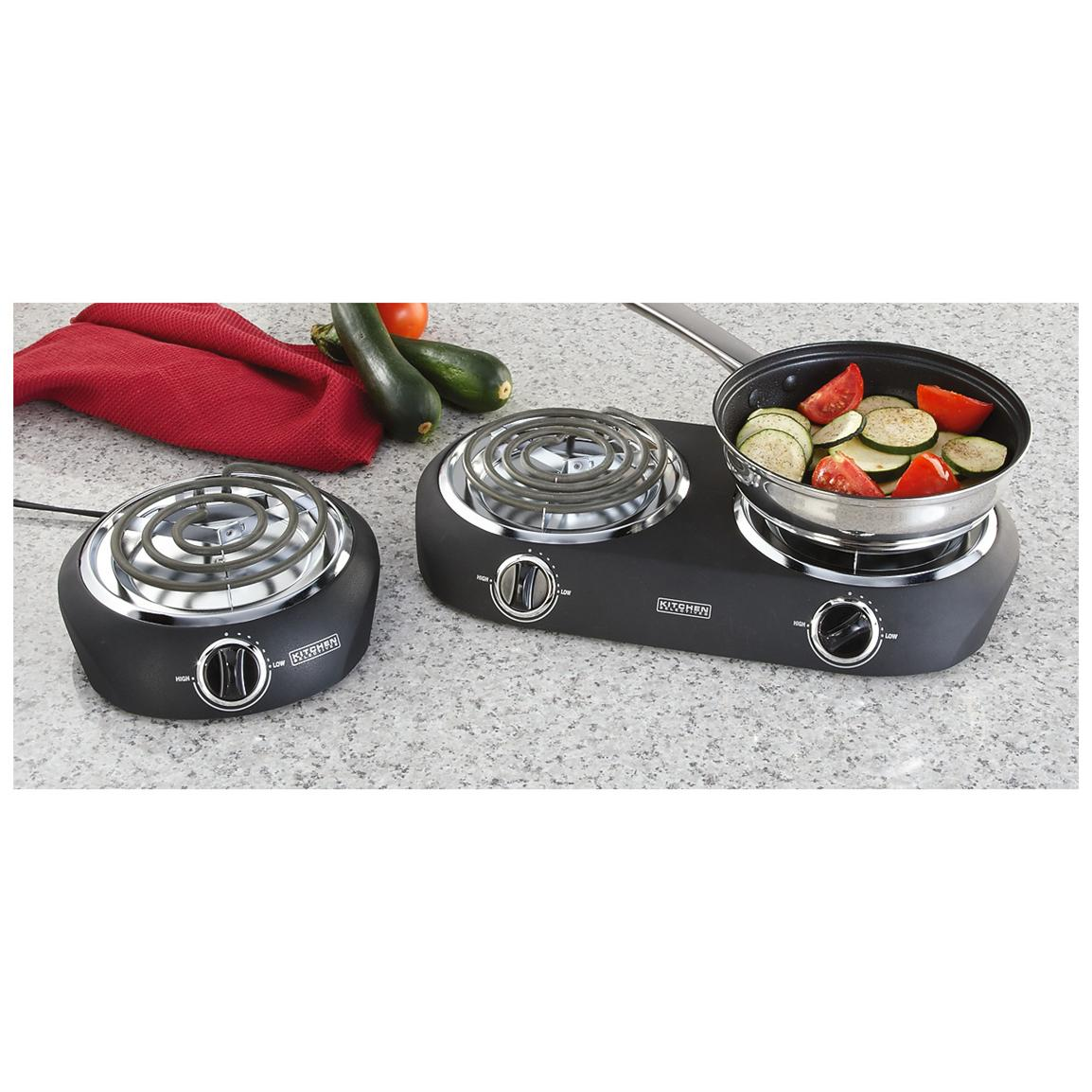 Single or Double Burner Electric Hot Plate