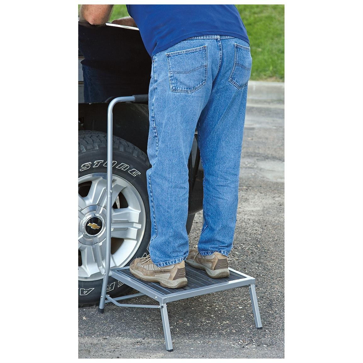 Sierra Tools™ Extra-wide Folding Work Stool