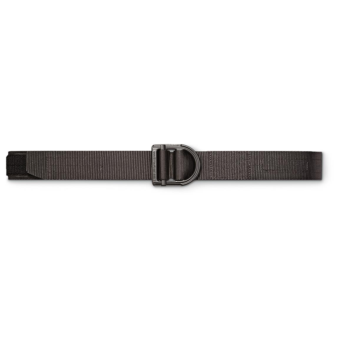 "5.11 Tactical 1 1/2"" Wide Trainer Belt, Black"